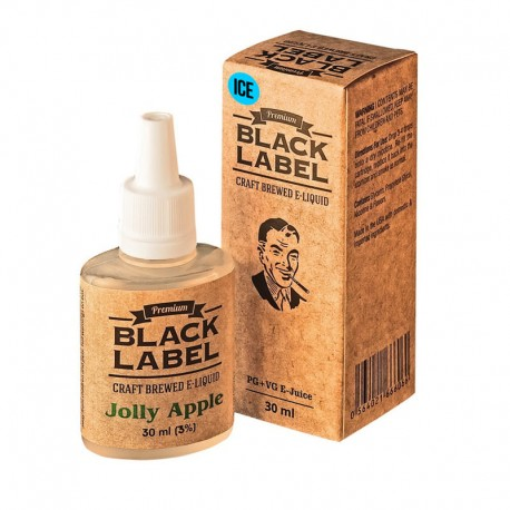 Жидкость Black Label Jolly Green Apple ice (яблоко со свежестью)