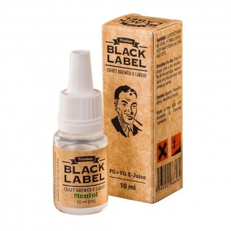 Жидкость Black Label Menthol Мята 10 мл 6 мг