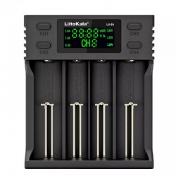 Liitokala Lii-S4 зарядное устройство
