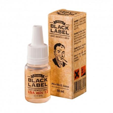 Жидкость Black Label USA mix 12 Тяжелый Табак 10 мл 6 мг
