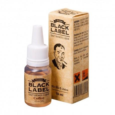 Жидкость Black Label Сoffee Кофе 10 мл 3 мг
