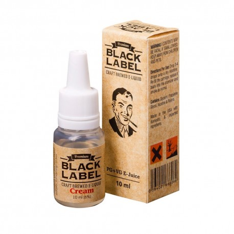 Жидкость Black Label Cream Молочная клубника 10 мл 6 мг