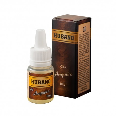 Жидкость Hubano Acapulco (Акапулько) 10 мл 3 мг