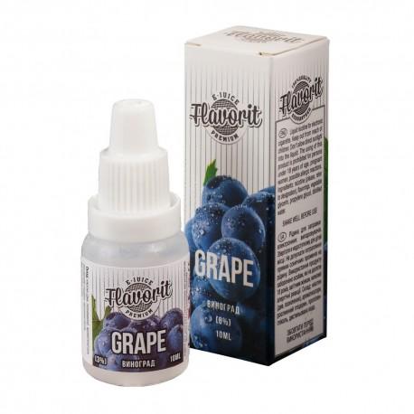 Жидкость Flavorit Grape (Виноград) 10 мл 3 мг