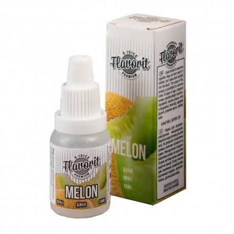 Жидкость Flavorit Melon (Спелая дыня) 10 мл 0 мг