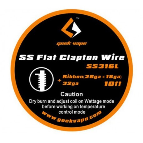 Проволока GeekVape SS Flat Clapton
