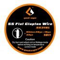 Проволока GeekVape SS Flat Clapton Wire