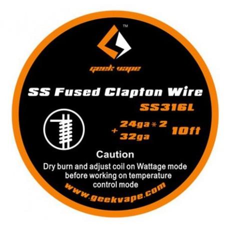 Проволока GeekVape SS Fused Clapton Wire