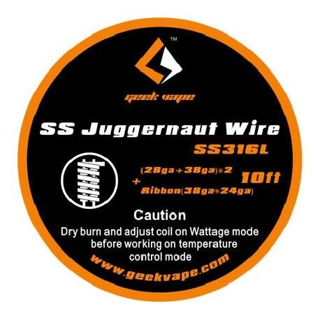 Проволока GeekVape SS Juggernaut Wire