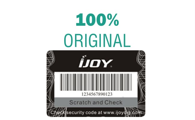 100% Authentic IJOY