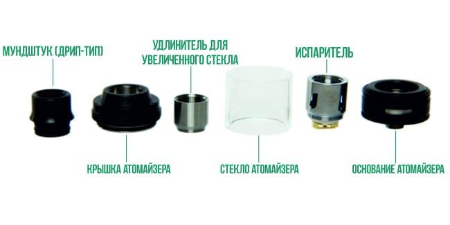 Eleaf iStick Pico 25 атомайзер