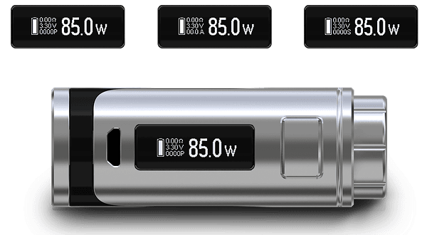 Eleaf iStick Pico 25 дисплей