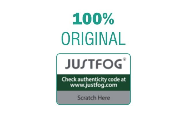 100% Authentic Justfog